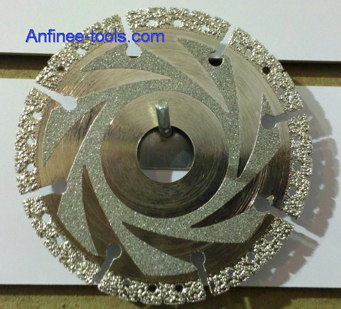 Vacuum Brazed Rescue Diamond Blade