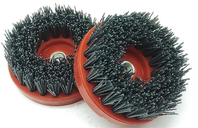 AFRAAB4 Round Abrasive Antique Brush