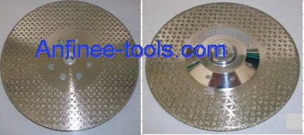 Electroplated blade series