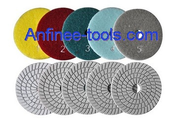 5 step polishing pad AF-WP5S