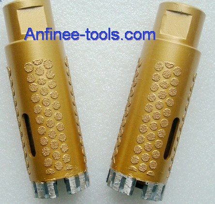 electroplated core  drill bit for dry use